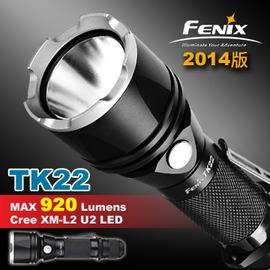 【FENiX】五段式戰術LED手電筒 TK22 2014版