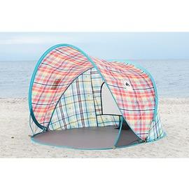 桃源戶外 LOGOS 愛麗絲迷你格紋輕鬆拋帳 71809011 |遮陽帳|沙灘帳|帳篷