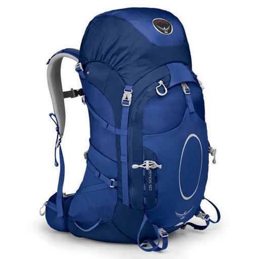 Osprey Atmos 50L 透氣登山背包 冰川藍 014250 登山 旅遊 露營