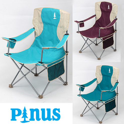 Pinus 豪華太師椅 加大折疊椅 3.4kg 收納 戶外休閒椅 露營 登山 P14727