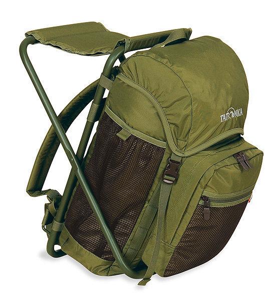 德國 TATONKA 功能款背包 20L|折凳可坐背包 TA2295 黑 綠 二色 登山 露營 旅遊 (原台中秀山莊)