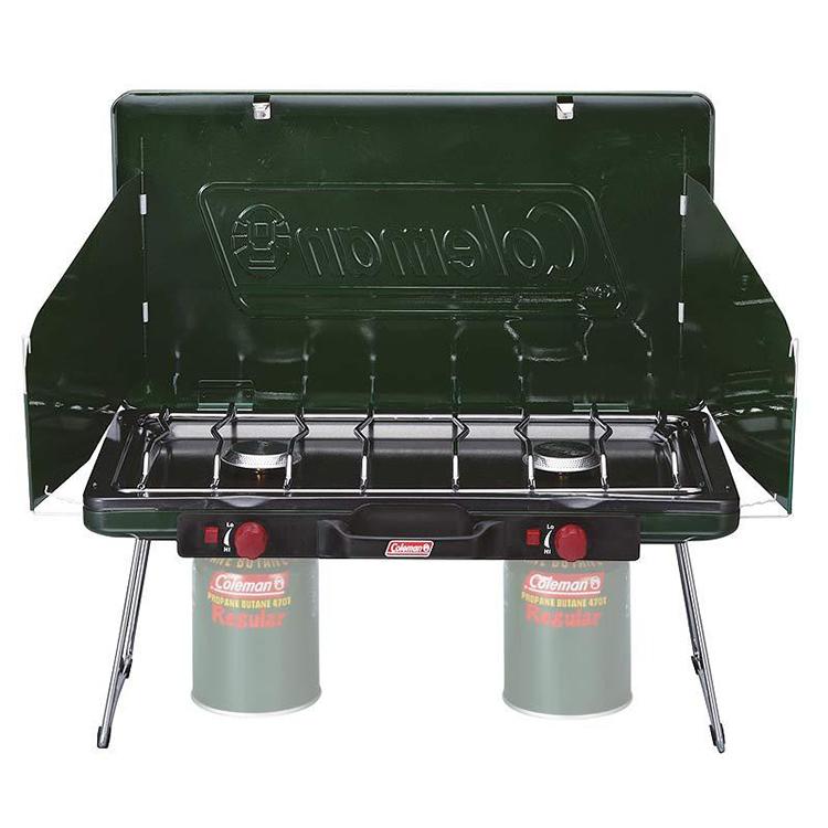 Coleman Powerhouse LP 2-burner stoveⅡ CM-6707 瓦斯雙口爐