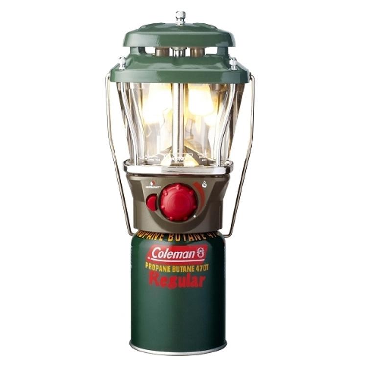 Coleman Square 5177 雙燈蕊瓦斯燈+電子點火 CM5177J (原台中秀山莊)
