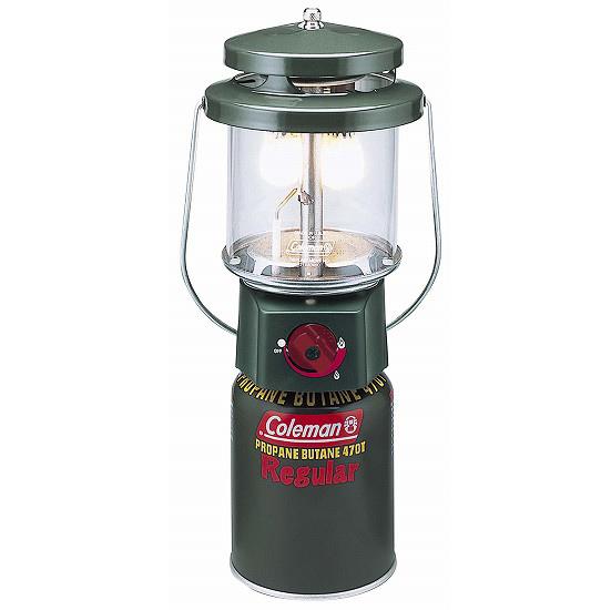 Coleman 雙燈蕊瓦斯燈+電子點火 CM5155 (原台中秀山莊)