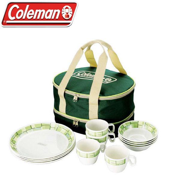 Coleman Melamine Tableware Set 4人份美耐皿餐盤組 CM9135J (原台中秀山莊)