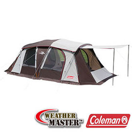 Coleman 氣候達人2-ROOM COACH 露營帳篷4-5人 CM-22111|四人帳|六人帳|露