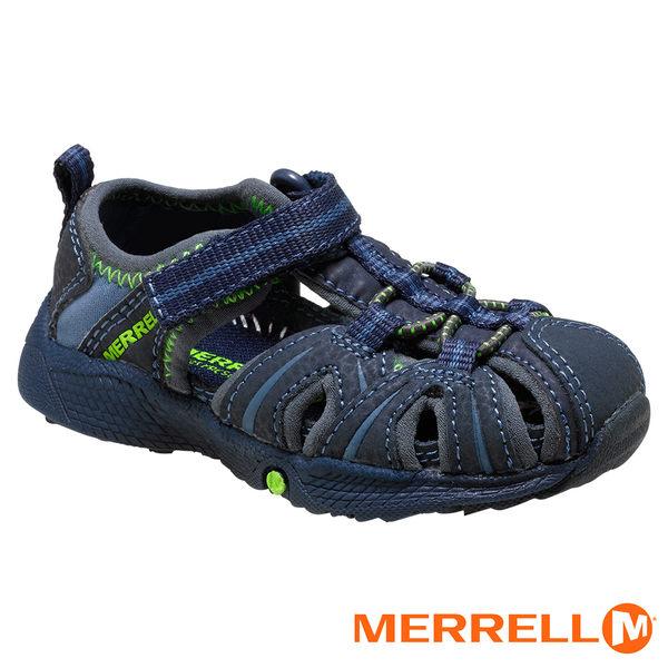 Merrell 兒童休閒鞋 深藍/綠 53375y