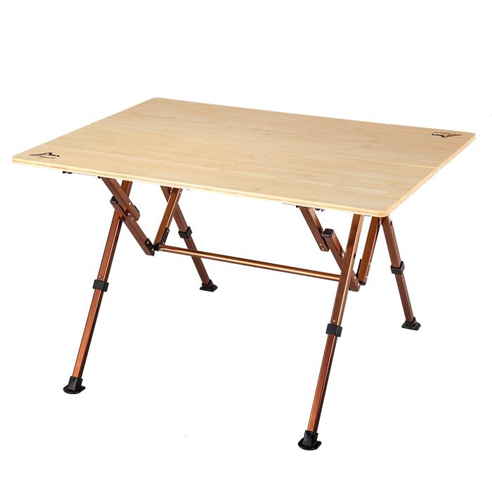 戶外竹板桌(大) 可調節桌子高度 308992489