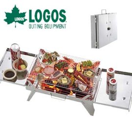 日本LOGOS 武官燒烤爐│烤肉架 LG81063460 (原台中秀山莊)