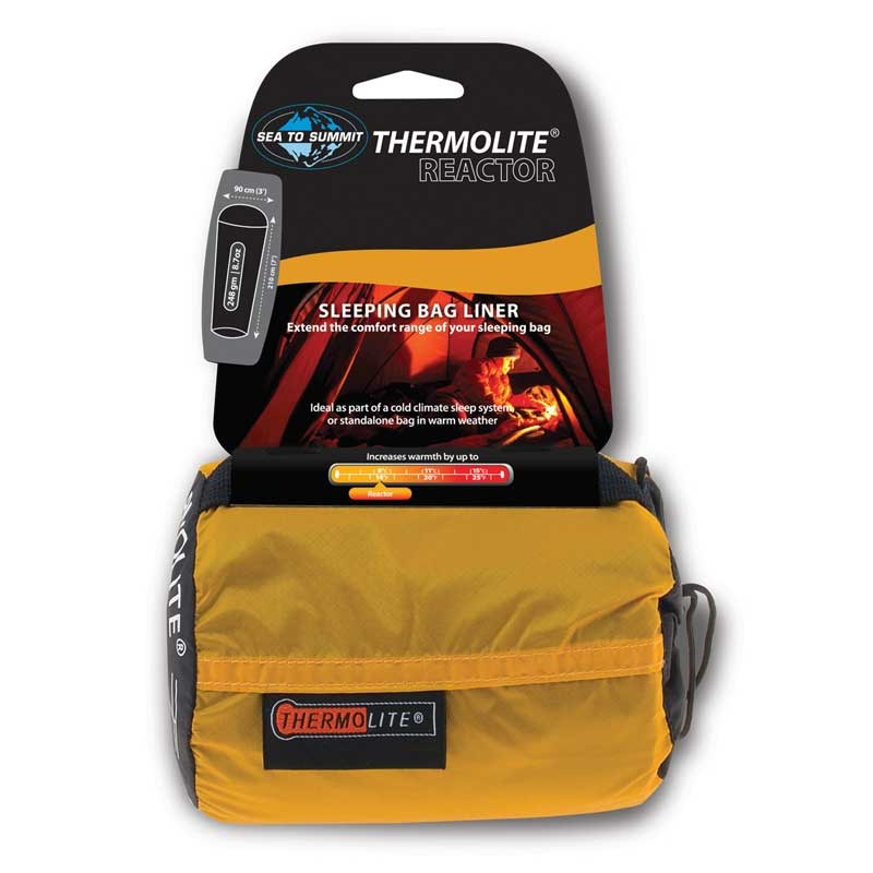 Sea to Summit Reactor Thermolite +8度C 保暖睡袋內套 單人用 (原台中秀山莊)