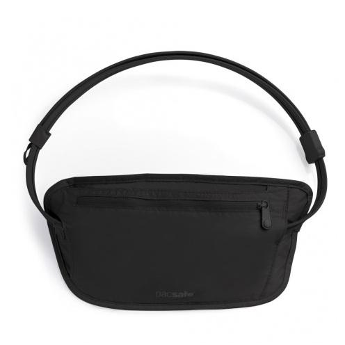 澳洲 PacSafe coversafe 100 貼身防盜腰包 黑|隱藏式|錢包|旅遊|防水內袋 PE104BK