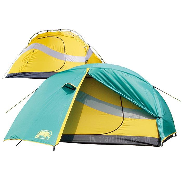 桃源戶外 Rhino 犀牛 2-Man Light Weight Compact Tent U2 二人輕便帳