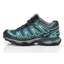 Salomon X ULTRA GTX 女輕量健行鞋海藍綠 327077 (原台中秀山莊)