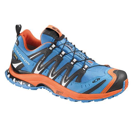 Salomon XA PRO 3D ULTRA 2 男GTX輕量越野鞋 亮藍/橘 359360 (原台中秀山莊)