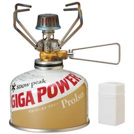 Snow peak GigaPower Stove GS-100A 地 瓦斯爐+電子點火