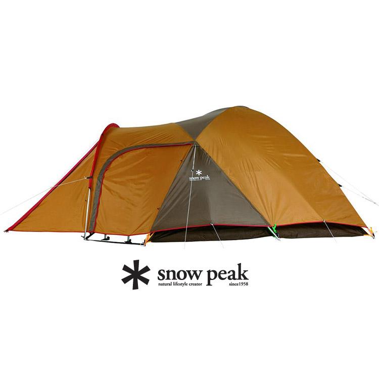 Snow Peak SDE-001 Amenity5人-帳棚組卡其+帳蓬內泡棉墊地布組(睡墊 + 地布)