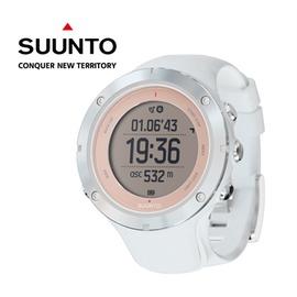 【芬蘭 SUUNTO】AMBIT3 SPORT HR 運動電腦腕錶 SAPPHIRE 玫框 (含心律帶) SS
