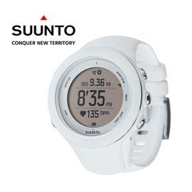桃源戶外【芬蘭 SUUNTO】AMBIT3 SPORT HR 運動電腦腕錶 - 白 (含心律帶) SS0