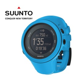 桃源戶外【芬蘭 SUUNTO】AMBIT3 SPORT HR 運動電腦腕錶 - 藍 (含心律帶) SS0