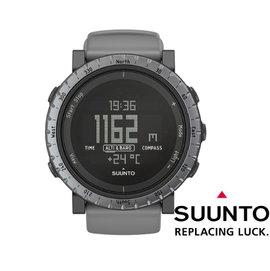 【芬蘭 SUUNTO】CORE Dusk Gray 電腦腕錶『灰』橡膠錶帶 SS020344000