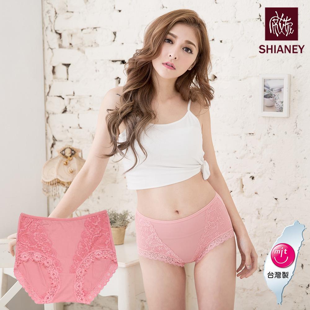 【SHIANEY席艾妮】女性高腰蕾絲褲 嫘縈纖維材質 台灣製造 No.8873