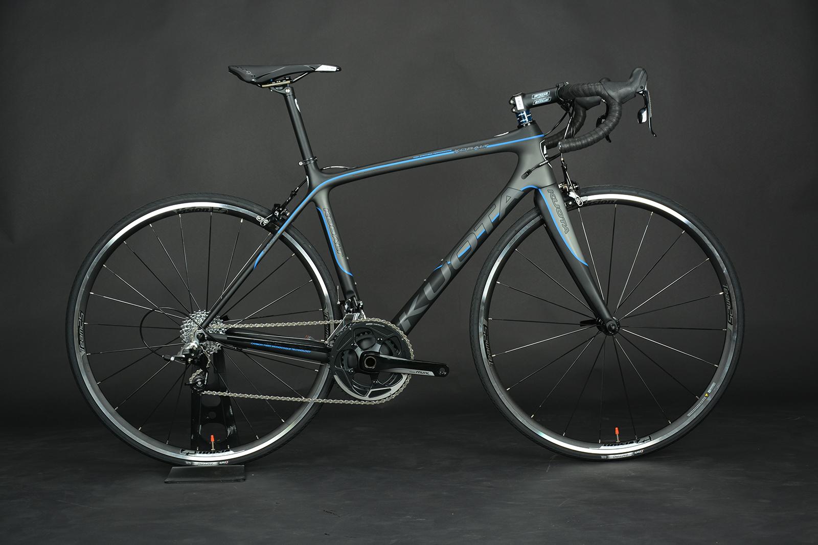 【7號公園自行車】KUOTA KOBALT 入門碳纖公路車 消光黑藍