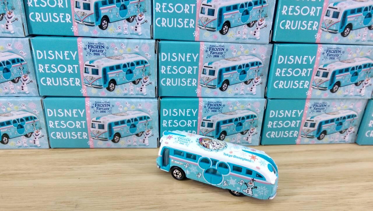 【真愛日本】16012900006 限定DN樂園小車-冰雪巡洋艦 東京迪士尼樂園限定 小車 收藏 擺飾