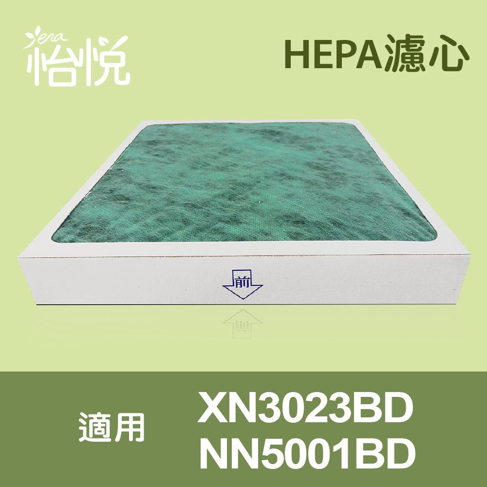 三入量販包!【怡悅HEPA濾心】適用東元XN3023BD/NN5001BD空氣清淨機