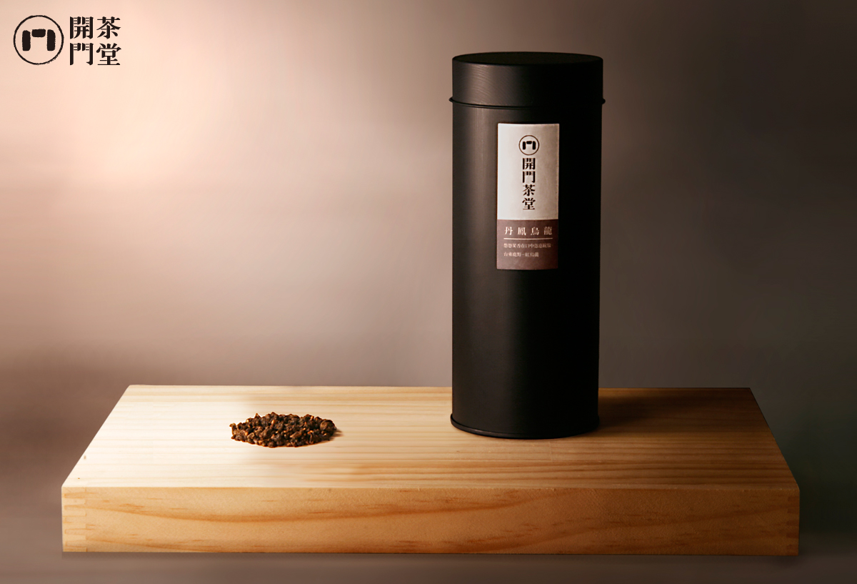 開門茶堂 丹鳳烏龍(紅烏龍) 罐裝茶葉150g