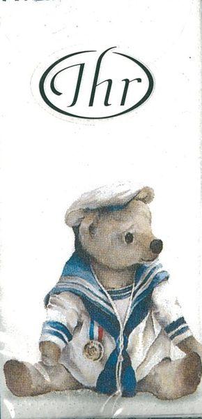 海軍熊-德國 IHR 紙手帕