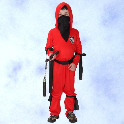 GTH-1337 紅忍者化裝舞會表演造型派對服(S/M/L/XL)