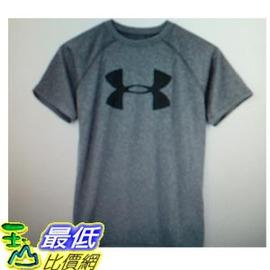 [COSCO代購 如果沒搶到鄭重道歉] Under Armour 男童短袖 T 恤 (灰) _W1017400