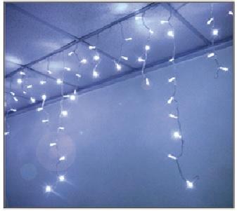 訂製品★LED窗簾燈 藍白色 110V/220V (100顆燈)3X0.9米★永旭照明5A1-CM26BW004(B)