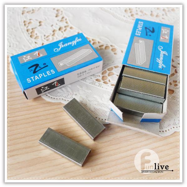 【aife life】10號釘書針/一盒1000針/釘書機/訂書針/辦公文具用品