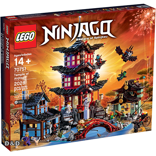樂高積木LEGO《 LT70751 》2016 年 NINJAGO 旋風忍者系列 - Temple of Airjitzu