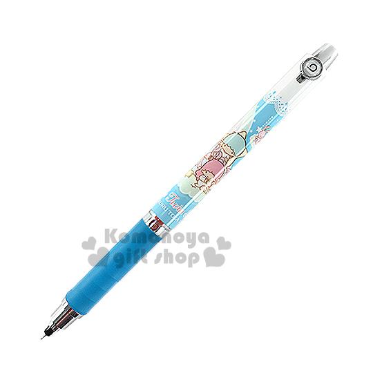 〔小禮堂〕雙子星 自動鉛筆《白藍.獨角獸.動物.雲.0.5mm》uni KURUTOGA系列