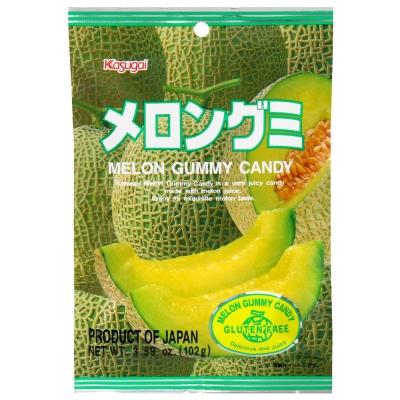 有樂町進口食品 日本春日井 哈密瓜軟糖 QQ軟糖 J65 4901326040045