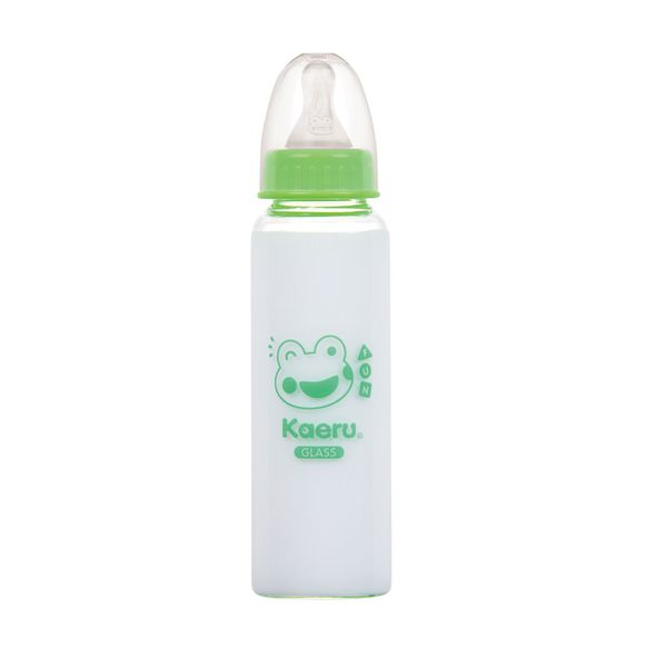 Kaeru哈皮蛙 - 標準口徑玻璃奶瓶 240ml