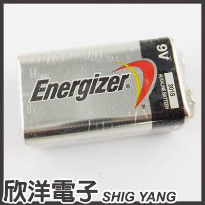 ※ 欣洋電子 ※ Energizer 勁量 9V 鹼性電池 (1入)無吊卡環保包裝
