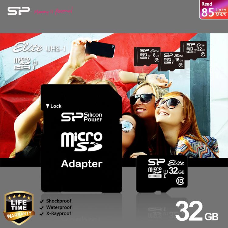 SP/Silicon Power 廣穎 Micro SD/MicroSD/UHS-I/T-Flash 32G/TF 32GB/32G CLASS10/SDHC 記憶卡/附SD轉卡
