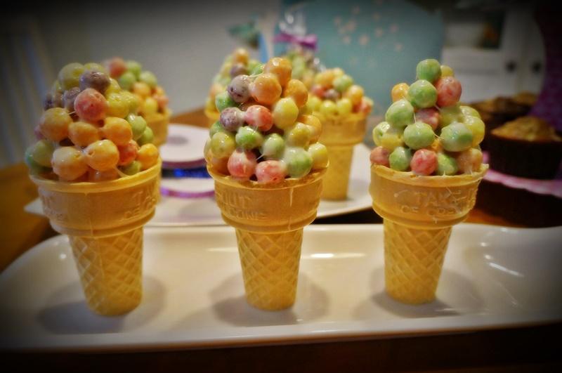 TRUST 五彩球冰淇淋餅乾 生日派對,幼稚園小禮物 (6入)