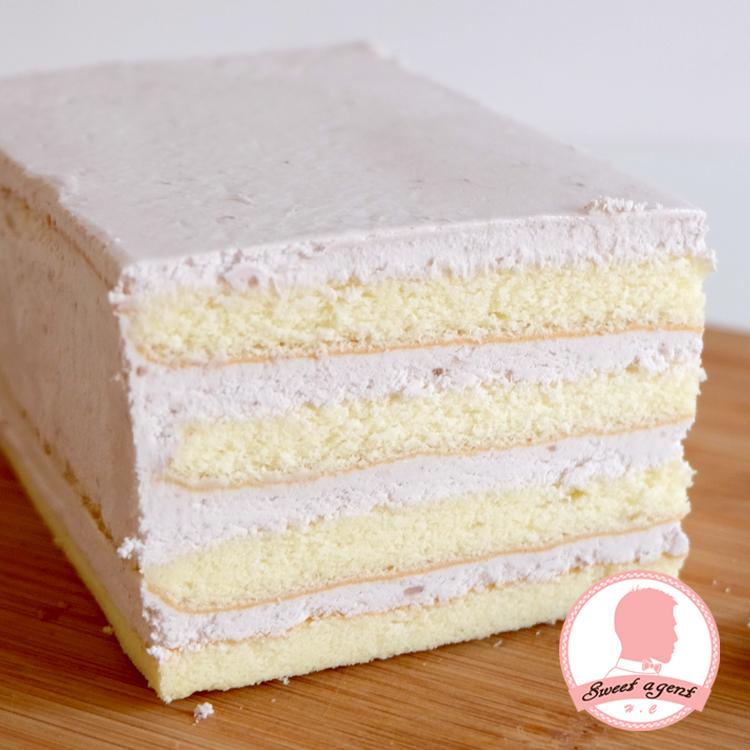 【甜點特務】[ 單純芋香慕斯蛋糕 ] 芋頭慕斯+鬆綿蛋糕