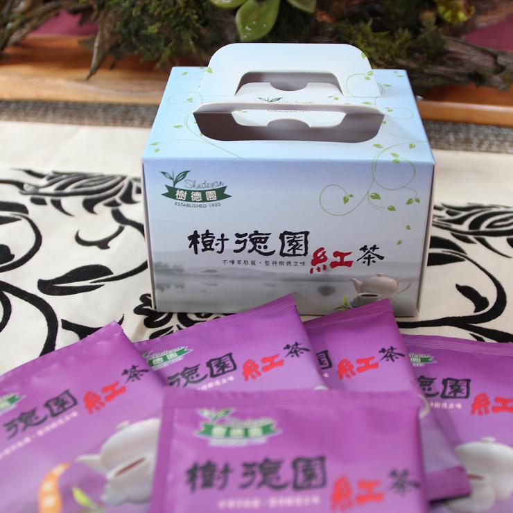 樹德園紅茶台茶8號阿薩姆袋茶10入自然農法栽種 手採功夫紅茶 日月潭紅茶
