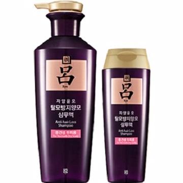 韓國 呂 Ryo 頂級滋養中乾性洗髮精 180ML/400ML 紫瓶紅標 售完不補 ☆真愛香水★  另有潤髮乳