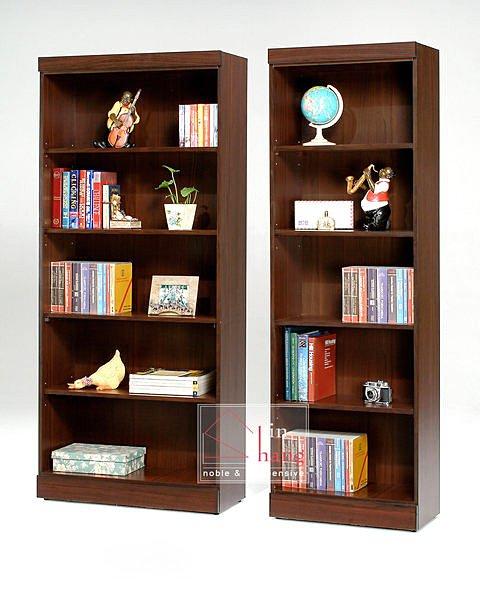 【尚品家具】GF-B04 羅密歐胡桃/白橡2尺開放式書櫃~另有3尺