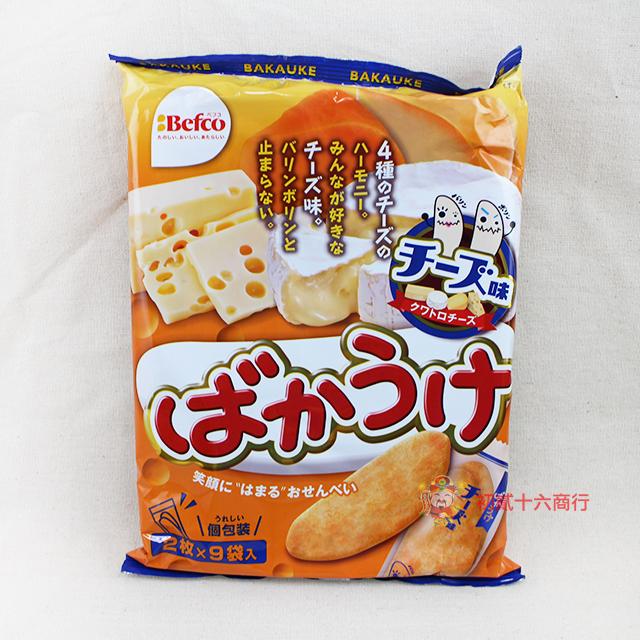 【0216零食會社】日本栗山米菓-月亮米果9入(起士)81g