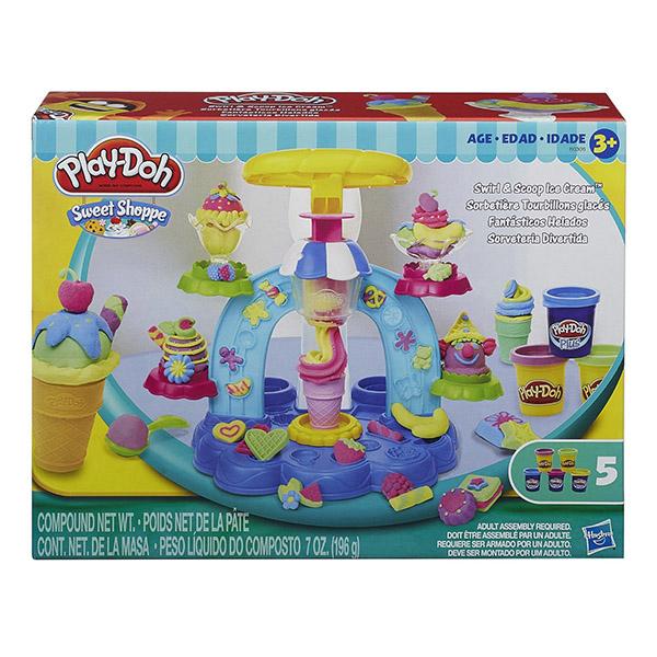 《★ 美國PLAY DOH》聖代冰淇淋遊戲組黏土 美國代購 溫媽媽