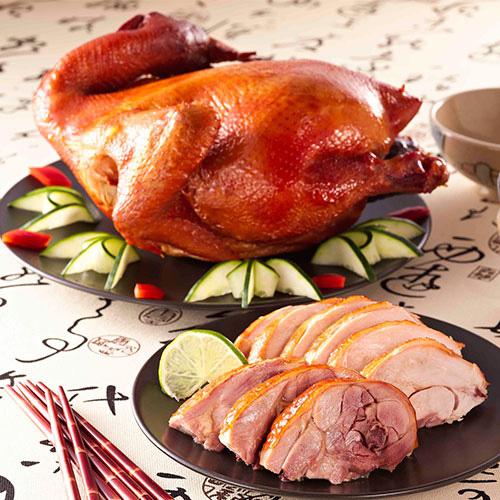 燻茶雞(全隻)1.5kg 甘蔗煙燻風味 拜拜最對味