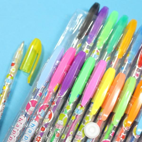 24色閃光筆 NO.621-24 金蔥閃光筆 亮彩筆 亮亮筆 閃亮筆(透明PP袋)/一小袋入{促120}
