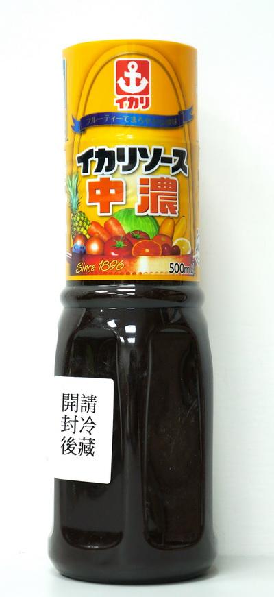 IKARI中濃醬|日式豬排醬 500ml